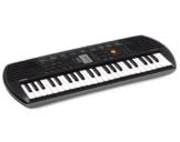 Casio SA-77 Keyboard mit 100 Klangfarben und 44 Minitasten -