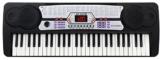 McGrey BK-5410 Keyboard (54 Tasten, 100 Klangfarben, 100 Rhythmen, Lernfunktion, Mikrofon, Netzteil, Notenständer) -