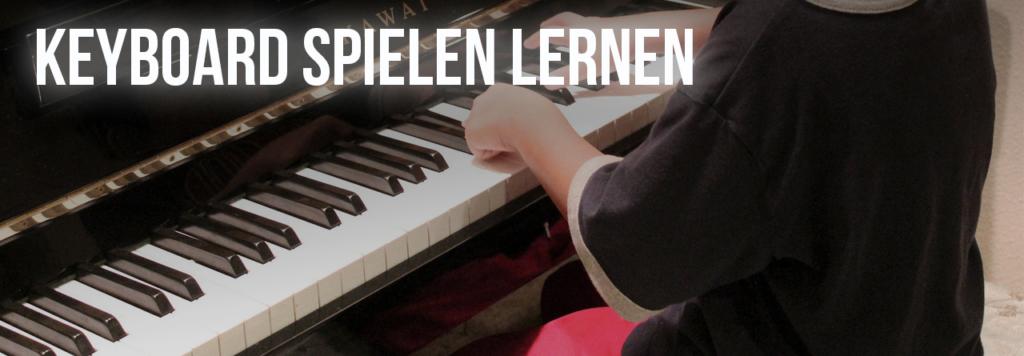 Keyboard Spielen lernen Header