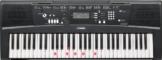 Yamaha EZ-220 Digital Keyboard (61 anschlagdynamische Tasten mit Beleuchtung) inkl.Netzteil -